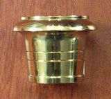Round Brass Foot
