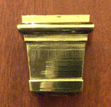 Square Brass Foot