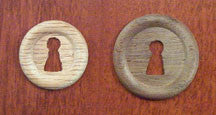 Wood Escutcheon