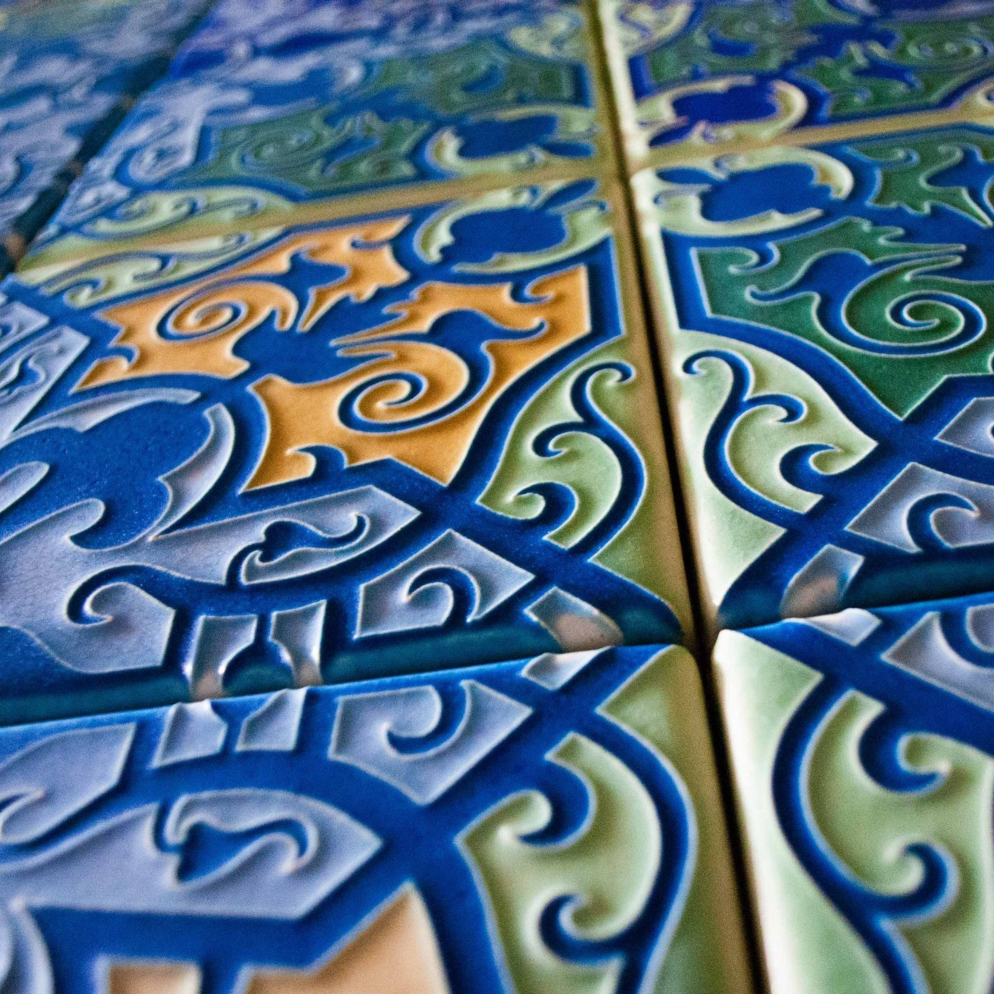 Art Tile Murals