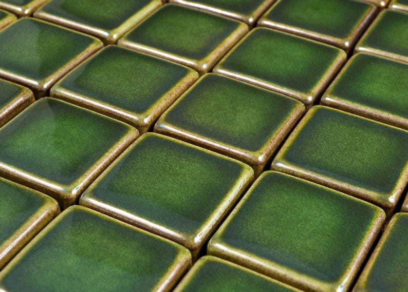 Image of Field tile in Emerald