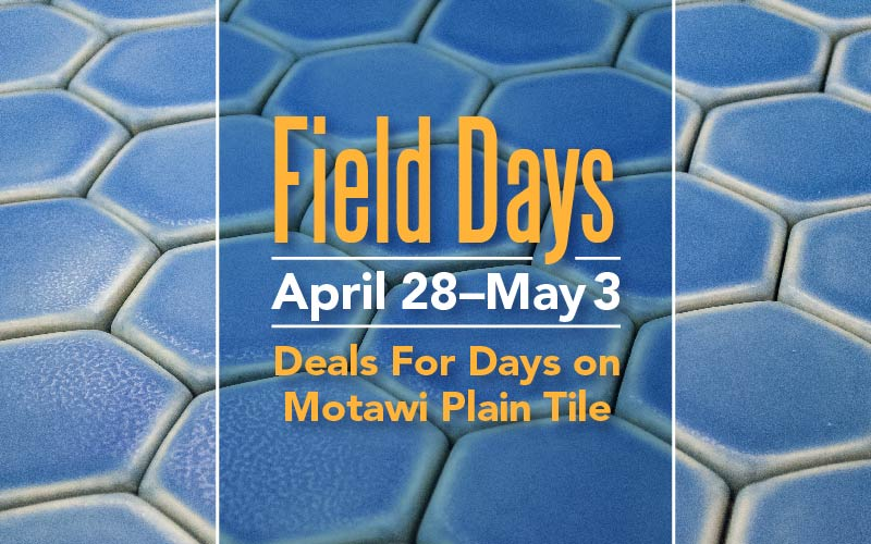 Motawi's Spring Field Days Sale!