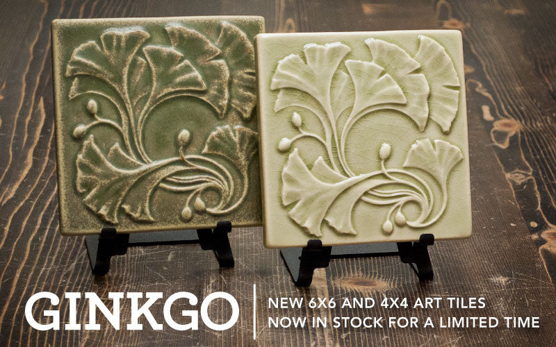 Ginkgo Art Tile Limited Release Announcement