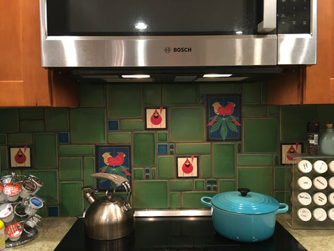 Charley Harper Kitchen Cardinals