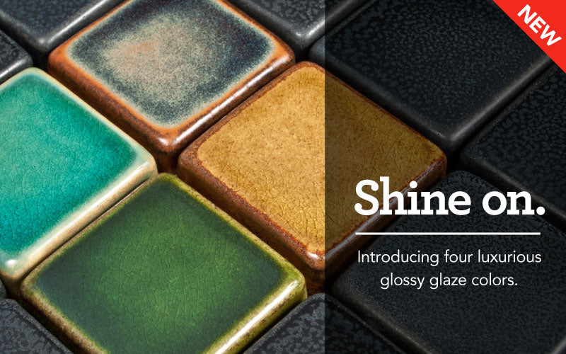 Blog header for glossy glazes