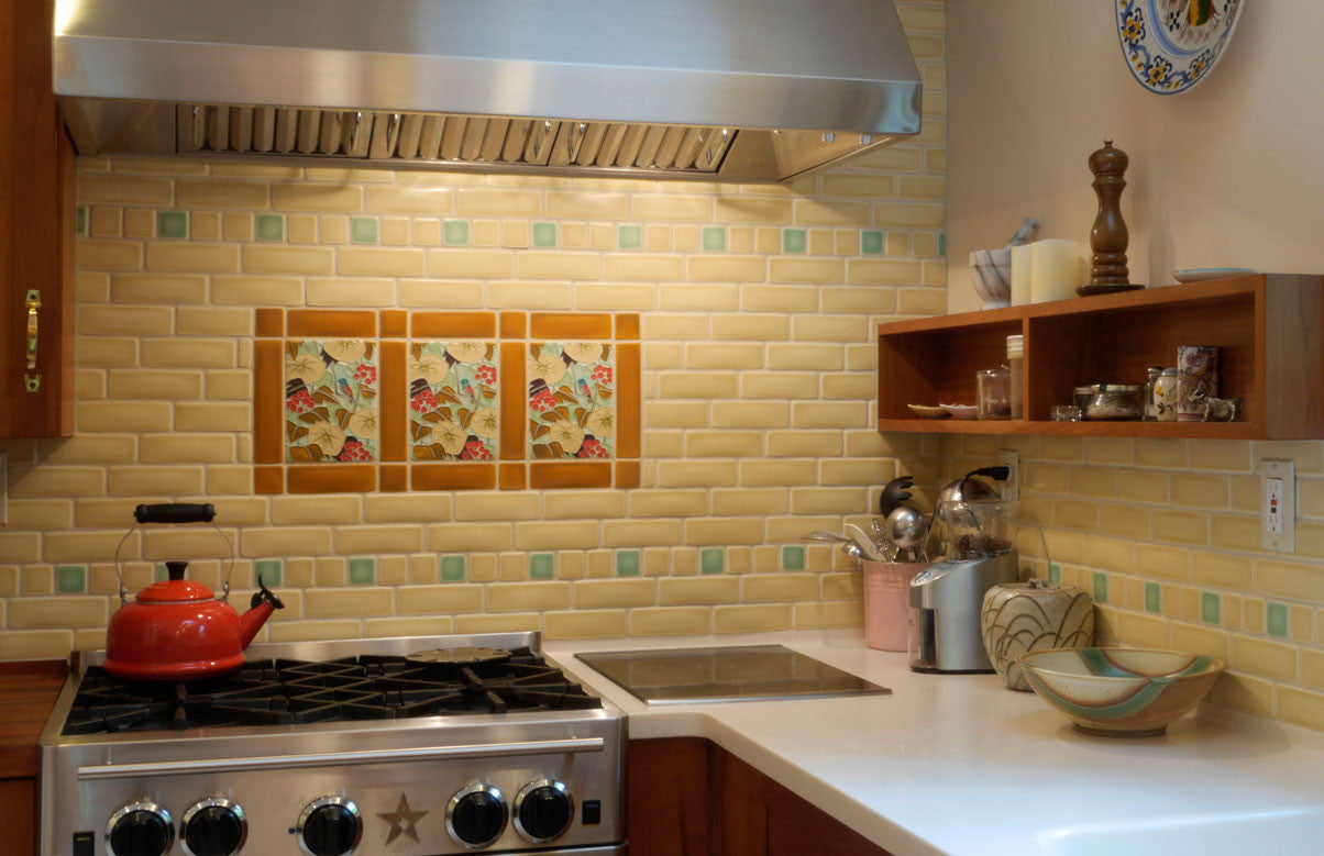 Spotlight on birds motawi tileworks hummingbird backsplash dailygadgetfo Choice Image