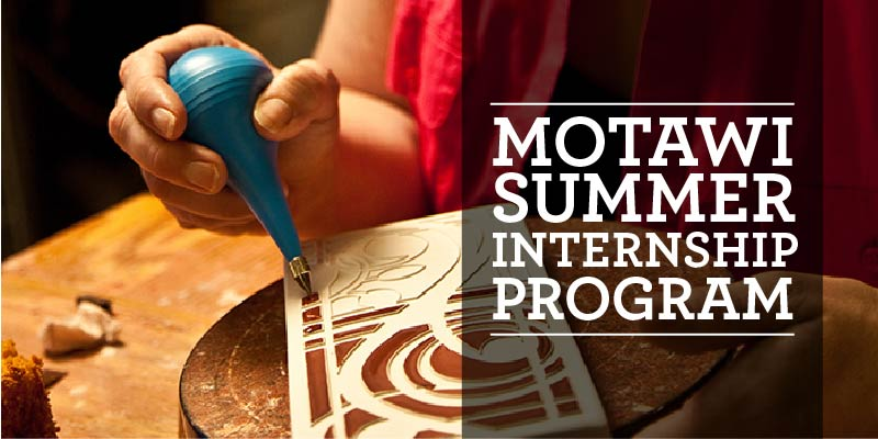 Motawi Summer Internship Program