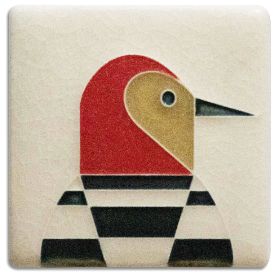 3x3 Woodpecker - Cream