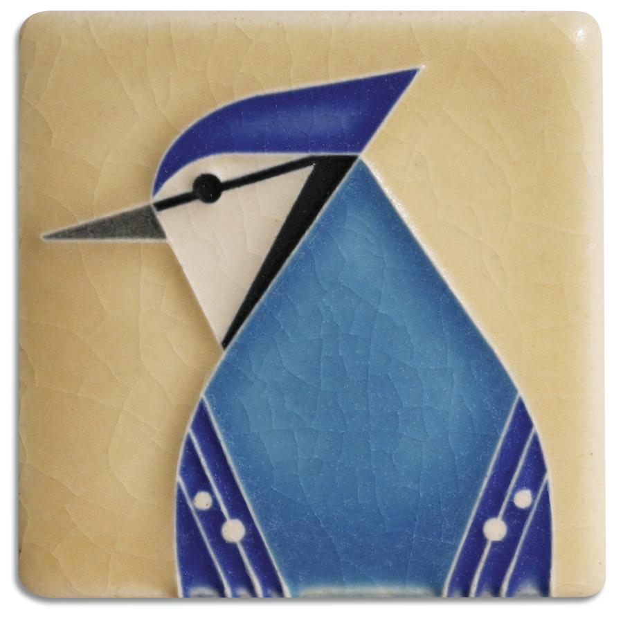 3x3 Blue Jay - Light Sand
