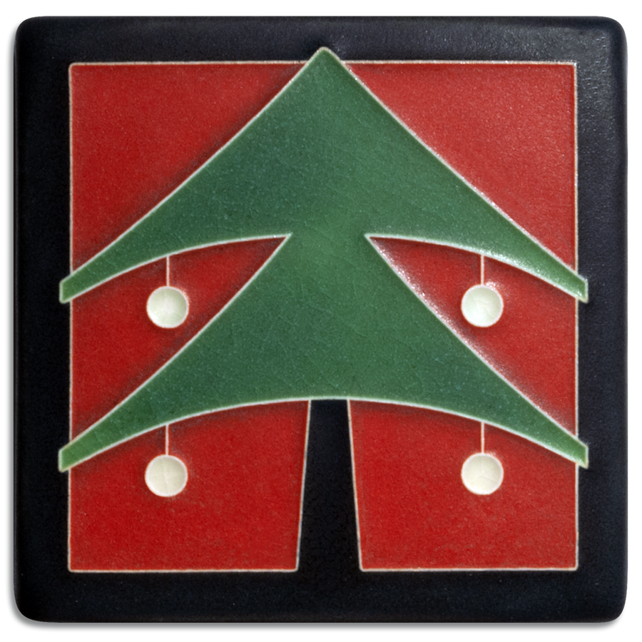 4x4 Christmas Tree - Red