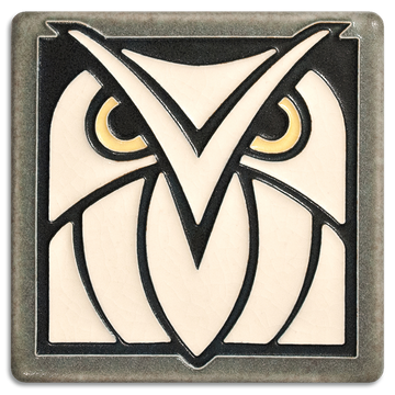 4x4 Owl - Grey White