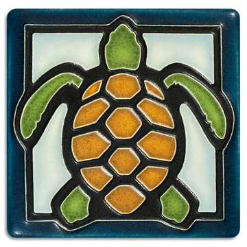 4x4 Turtle - Light Blue