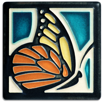 4x4 Butterfly - Turquoise