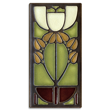 4x8 Bell Flower - Olive