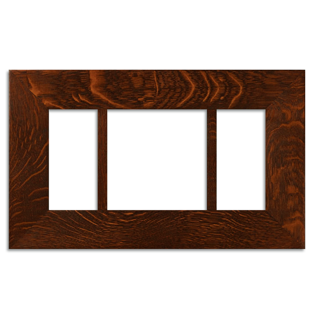 4x8 and 8x8 Triple 3-inch Oak Legacy Frame | Motawi Tileworks ...