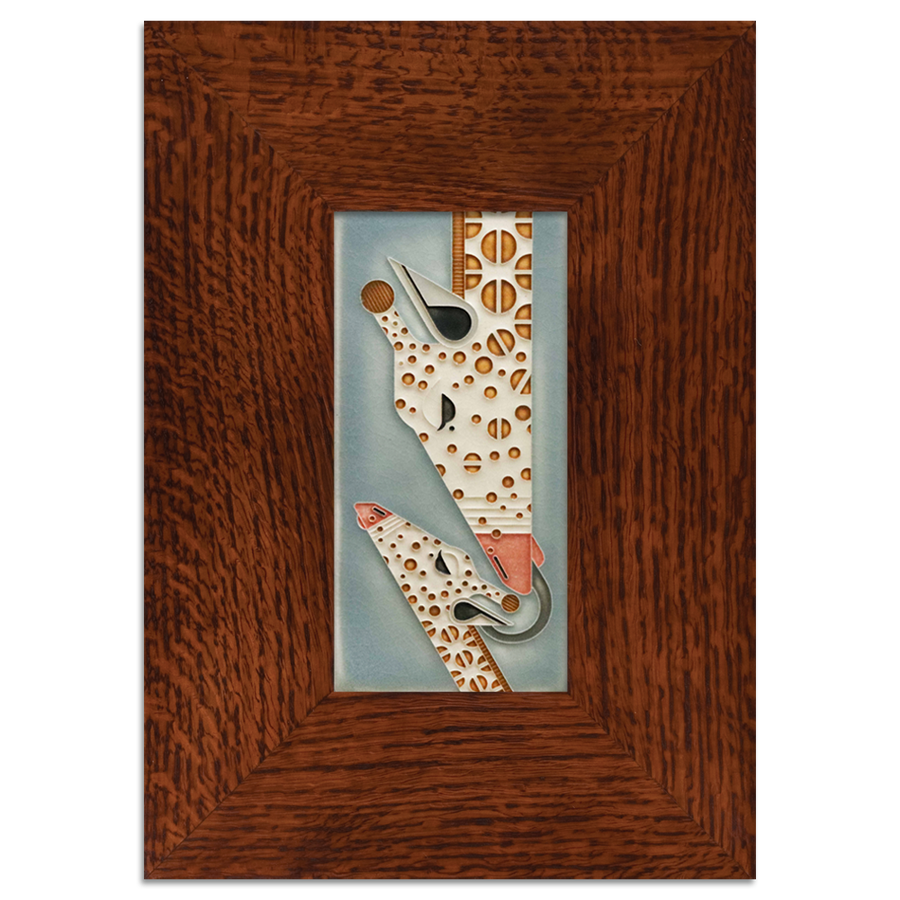 Tile in 3-inch Beveled Legacy Frame