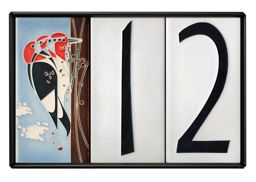 4x8 House Number Frame (Holds Three Tiles, Sold Separately)