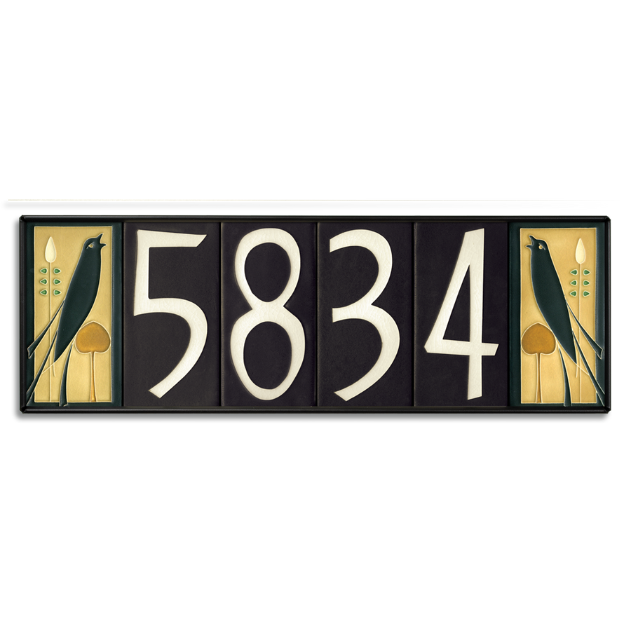 4x8 House Number Frame (Holds Six Tiles)