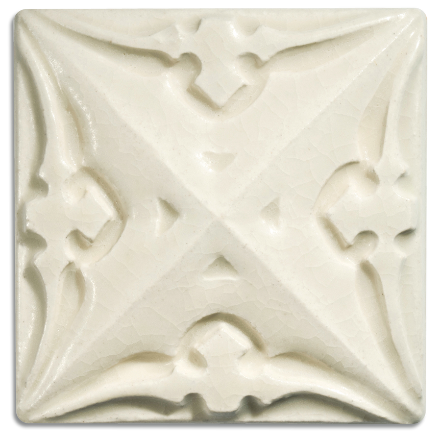 5000 | Cream on 4x4 Sullivan Relief Tile