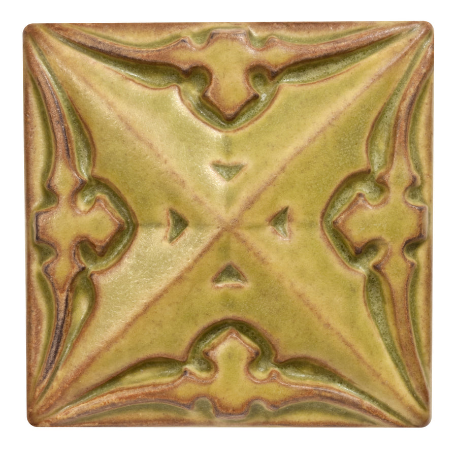 5153 | Pear on 4x4 Sullivan Relief Tile
