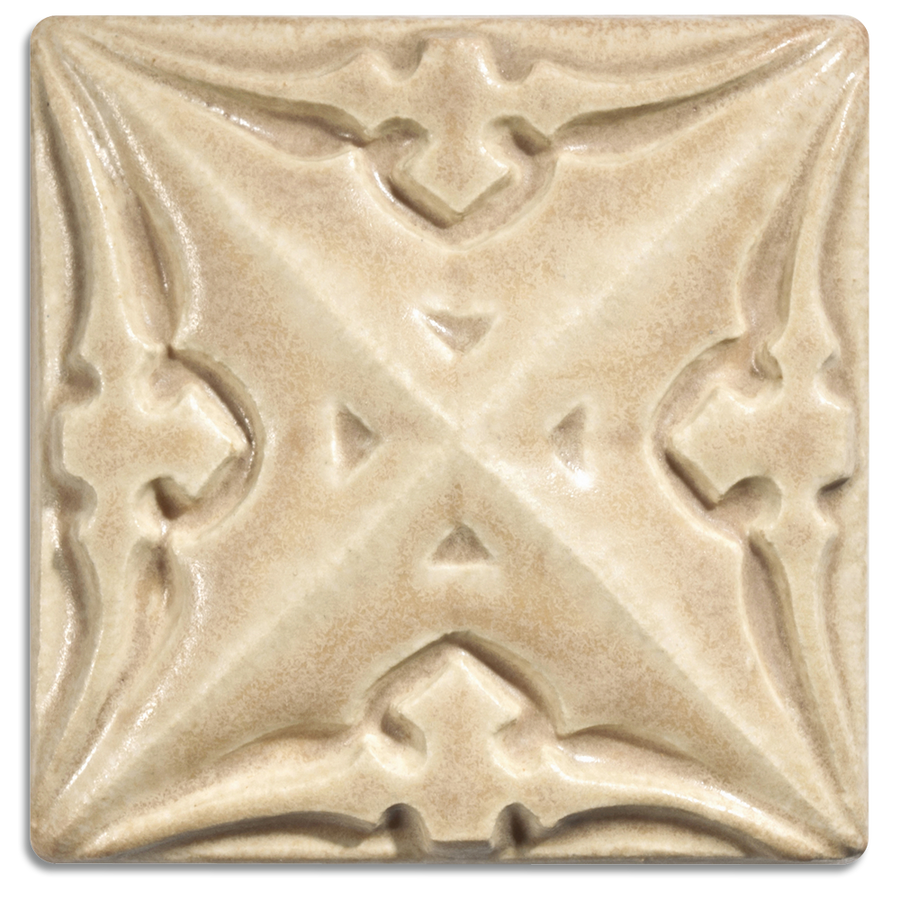 5216 | Chamois on 4x4 Sullivan Relief Tile