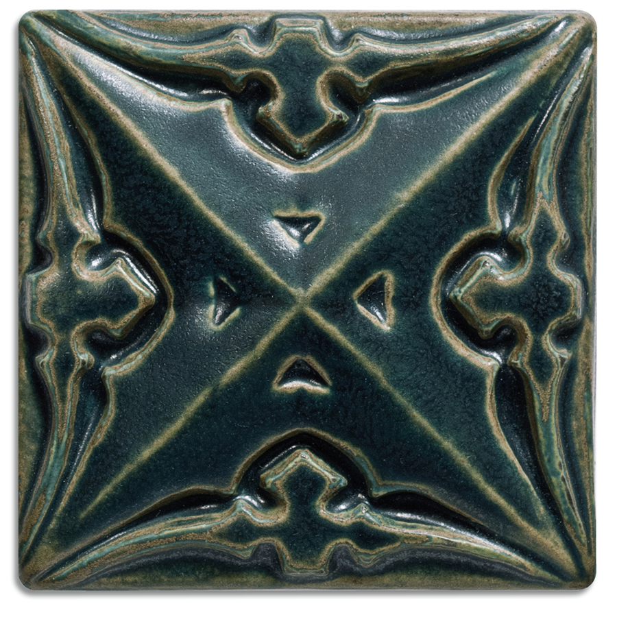 5924 | Midnight on 4x4 Sullivan Relief Tile