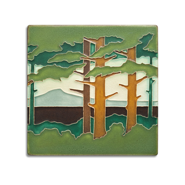 6620 SP | 6x6 Pine Landscape, Mountain, Spring