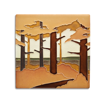 6x6 Pine Landscape, Valley, Autumn