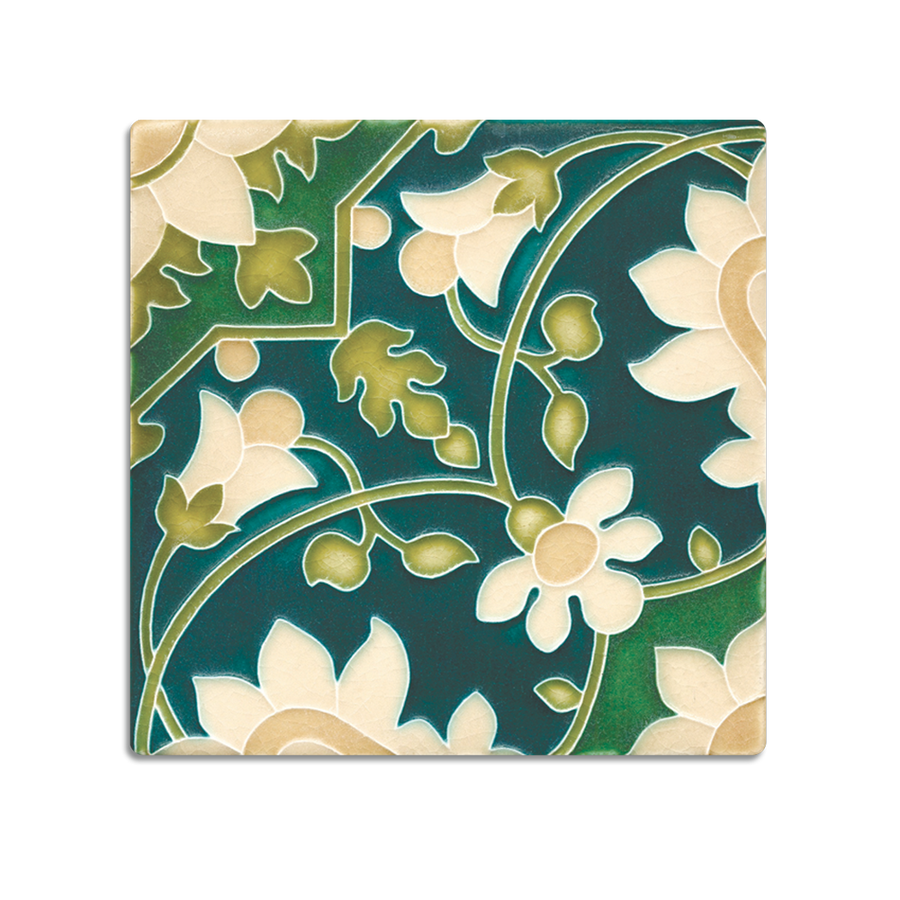 6x6 Tapestry Wallpaper, Emerald