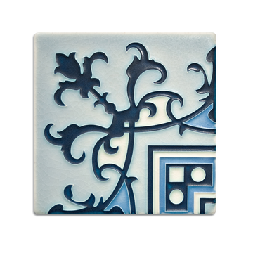 6x6 Havana Corner | China Blue