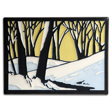 6x8 Snowscape - Dawn