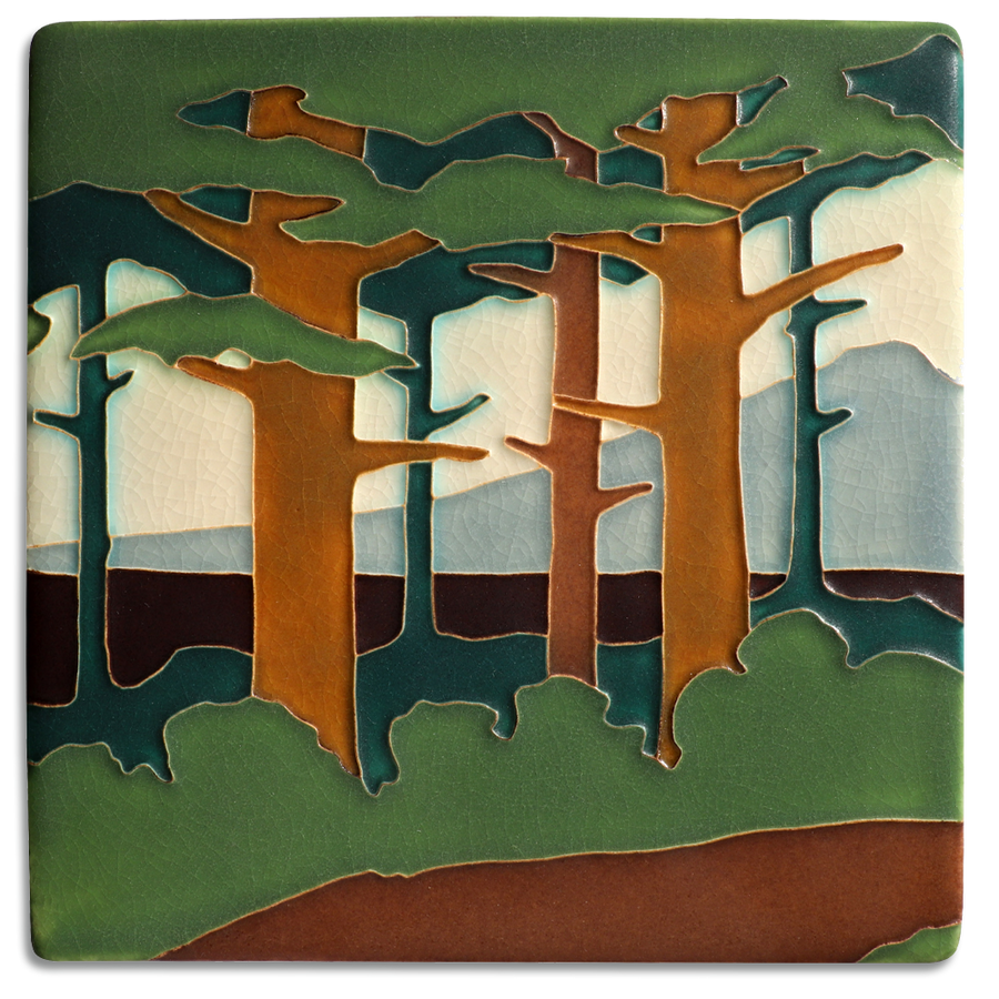 8820 SP | 8x8 Pine Landscape, Mountain, Spring