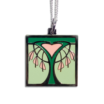 Bleeding Heart Pendant Necklace