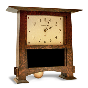 8x4 Horizontal Craftsman Clock