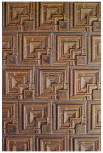 FLW Ennis House, Dark Brown