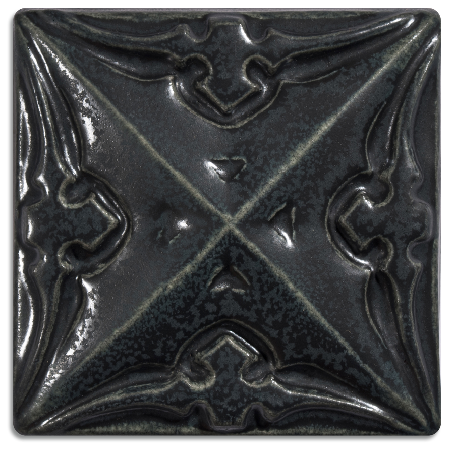 5157 | Black on 4x4 Sullivan Relief Tile