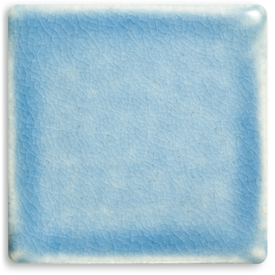 5061 | Glaze Range Sample Pale Blue, Matte