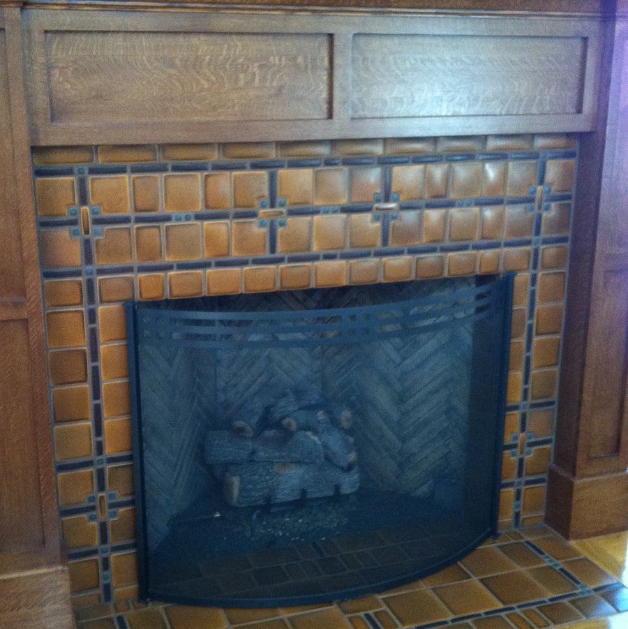 DIY Fireplace #7