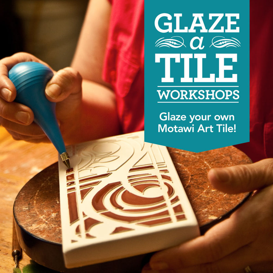 Choose Your Palette! Glaze-A-Tile Workshop | October 12