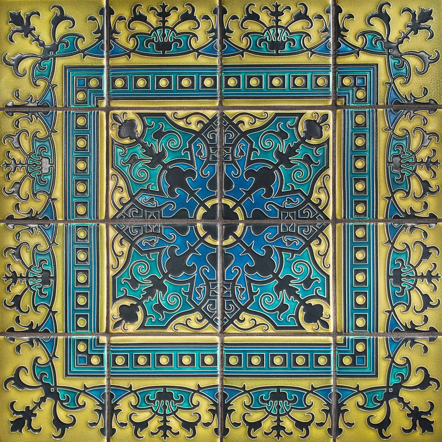 6x6 Havana Collection | Blue Green