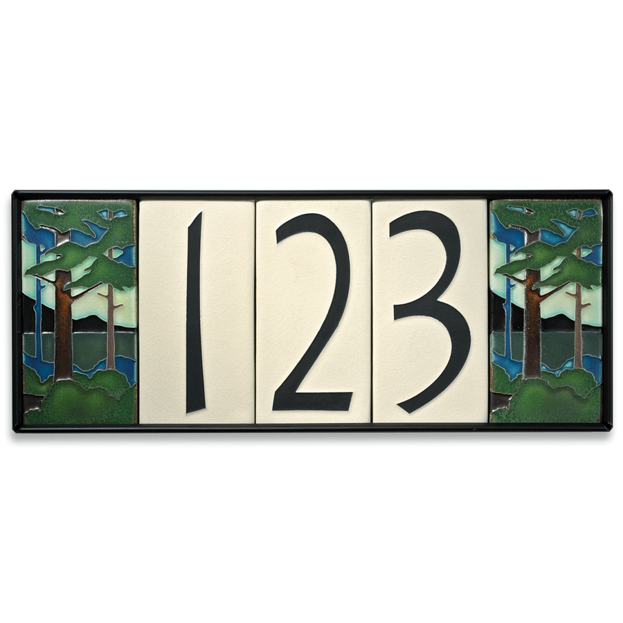 4x8 House Number Frame (Holds Five Tiles, Sold Separately)