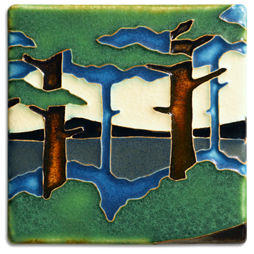 4x4 Pine Landscape - Valley (Summer)