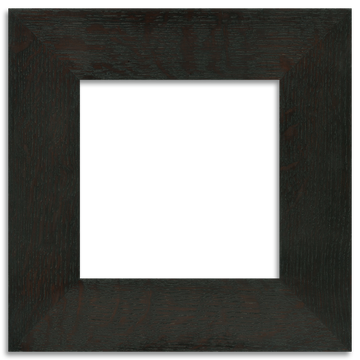 Ebony Finish - 6x6 2-inch Oak Park Frame - Single Opening