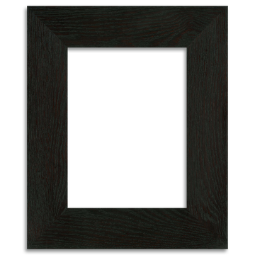 Ebony Finish - 6x8 2-inch Oak Park Frame - Single Opening