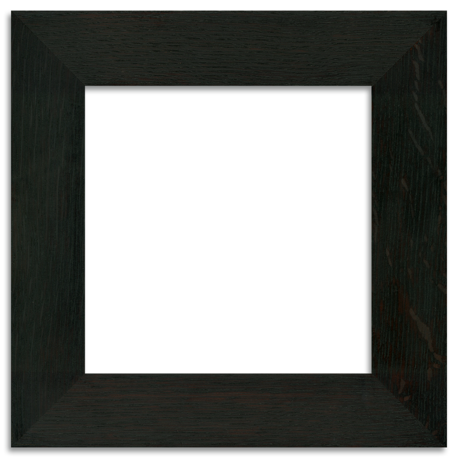 Ebony Finish - 8x8 2-inch Oak Park Frame - Single Opening