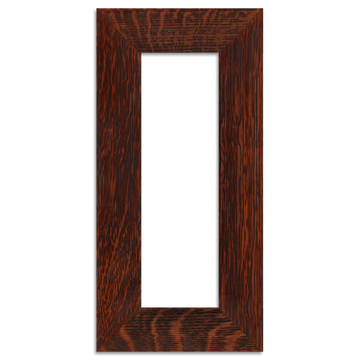Oak Finish - 4x12 2-inch Oak Park Frame - Single Opening