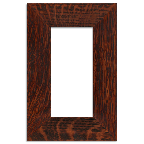 wood picture frames. Oak Finish - 4x8 2-inch Park Frame Single Opening Wood Picture Frames
