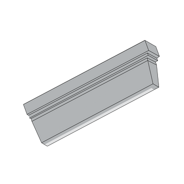 2x6 Rothwell Trim, Right End