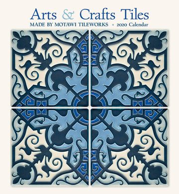 12x13 Arts & Crafts Tiles 2020 Wall Calendar