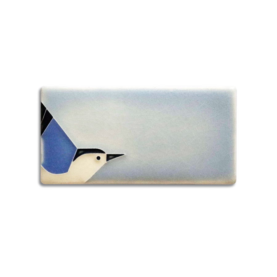 3674 IB | 3x6 Nuthatch, Ice Blue